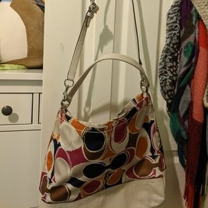 Coach Colorful slouch shoulder bag with strap